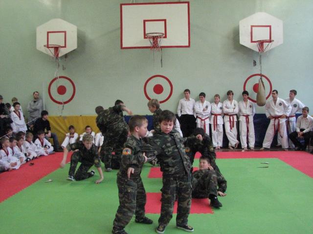 Ii - ой детский фестиваль боевых искусств 04112012